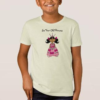 Six Year Old Princess T Shirt