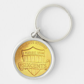 SixCentsStudio Branded Premium Keychain