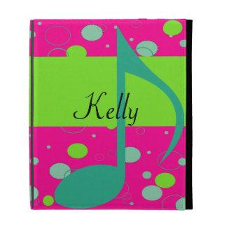 Sixteenth Note Musical Symbol iPad Folio Cover