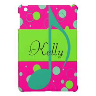 Sixteenth Note Musical Symbol iPad Mini Cover