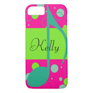 Sixteenth Note on Polka Dots iPhone 8/7 Case