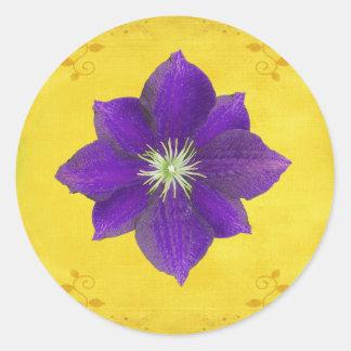 Sixth Chakra Gift – Third Eye Classic Round Sticker