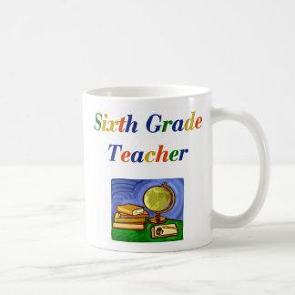 Sixth Grade Teacher Mug