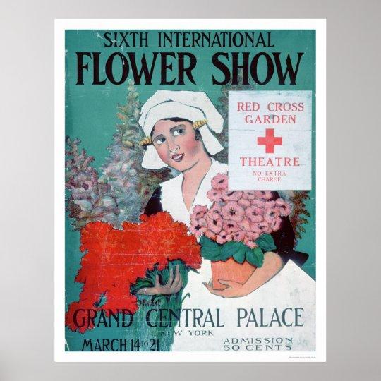 Sixth International Flower Show (US00282) Poster