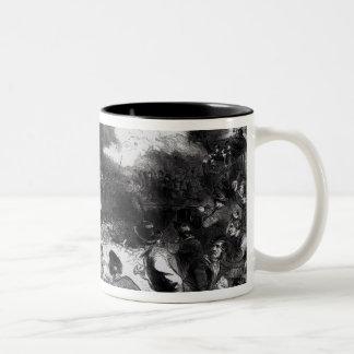 Sixth Regiment of the Massachusetts Volunteers Two-Tone Coffee Mug