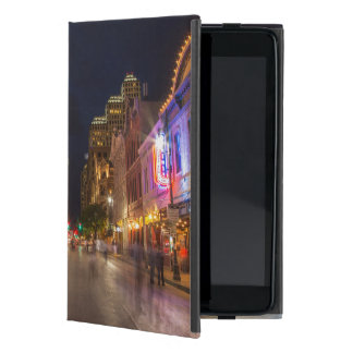 Sixth Street At Dusk In Downtown Austin, Texas iPad Mini Cover