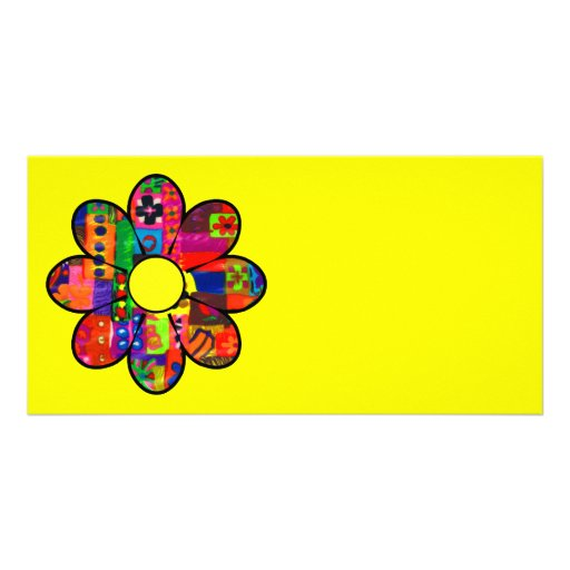 Sixties Flower Power Photo Cards