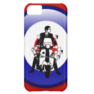 Sixties Mod on 3d target iPhone 5C Cover