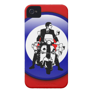 Sixties Mod on 3d target iPhone 4 Case