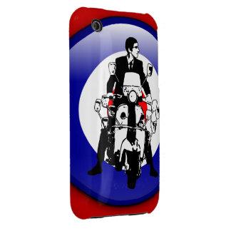 Sixties Mod on 3d target Case-Mate iPhone 3 Case