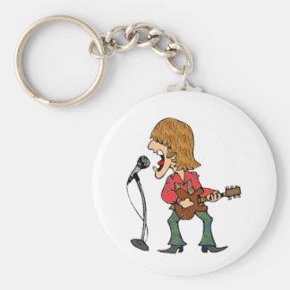 Sixties Rocker Key Chains