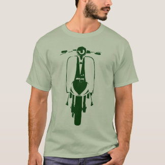 Sixties Scooter Art (green) T-Shirt