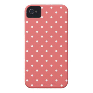 Sixties Style Red Polka Dot iPhone 4/4S Case