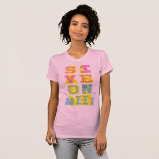 """SIYEON NHỈ???"" T-shirt (pink ver)"