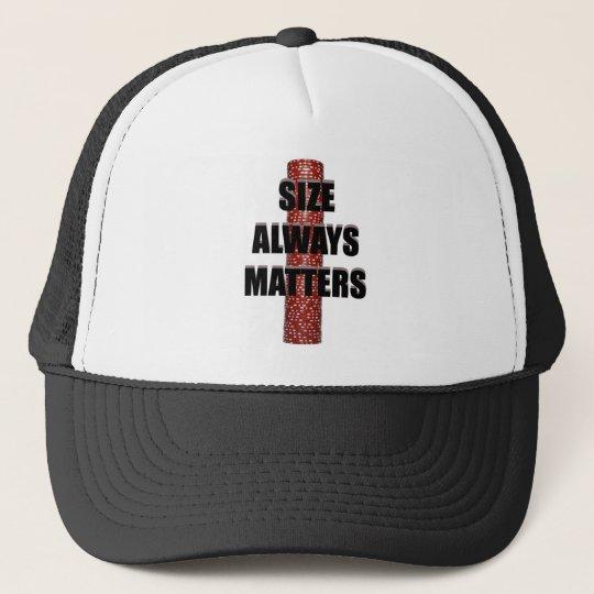 Size Matters (Poker) Cap
