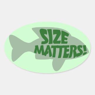 Size Matters Sticker