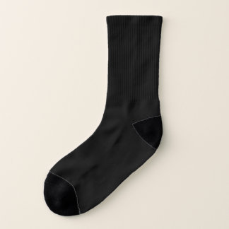 Size: Small All-Over-Print Socks Work your look in 1