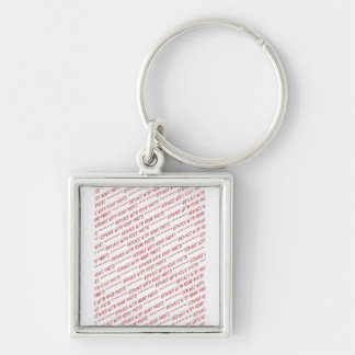 Size Specific 8x10 Photo Template Key Ring