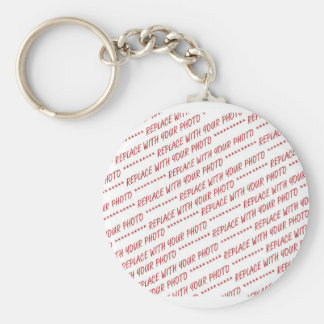 Size Specific - For use with 7x5 Photo - Frame Basic Round Button Key Ring