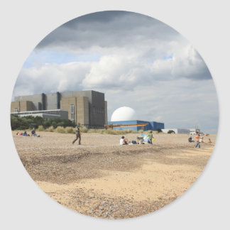 Sizewell Nuclear Power Station Round Sticker