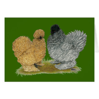 Sizzle Chickens Card