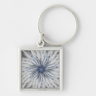 Sizzle Version 1 Fractal Abstract Art Key Chains