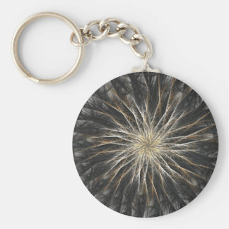 Sizzle Version 2 Fractal Abstract Art Keychains