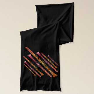 Sizzling Clarinets Scarf