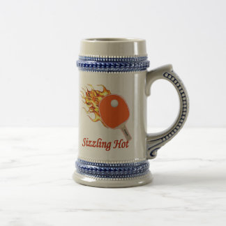 Sizzling Hot Flaming Ping Pong Beer Steins