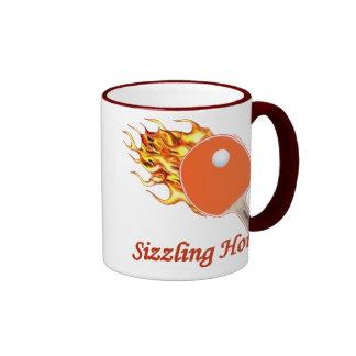 Sizzling Hot Flaming Ping Pong Ringer Mug