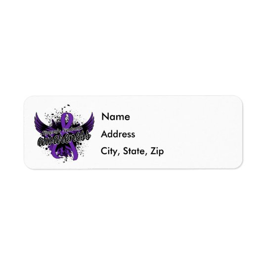 Sjogren's Syndrome Awareness 16 Return Address Label