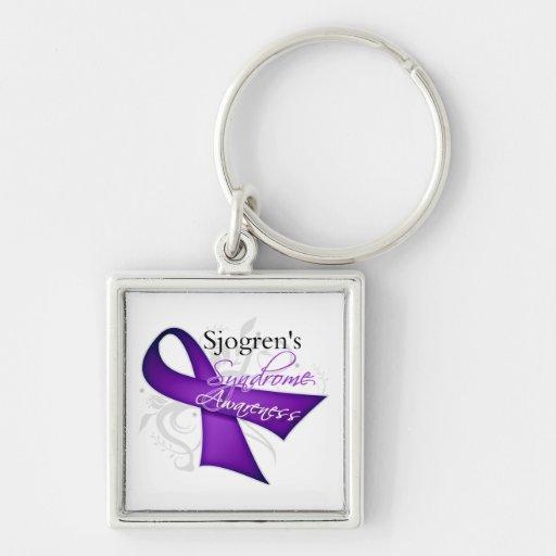 Sjogren's Syndrome Awareness Key Chains