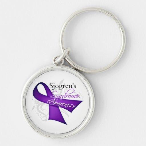 Sjogren's Syndrome Awareness Keychains