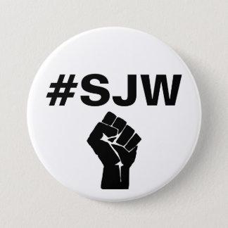 #SJW Social Justice Warrior 7.5 Cm Round Badge