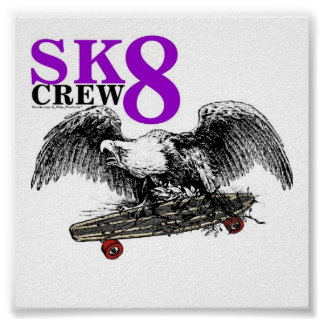 SK8 CREW 8 POSTER