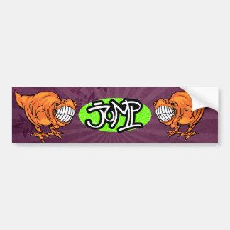 SK8 Dino sticker Bumper Sticker