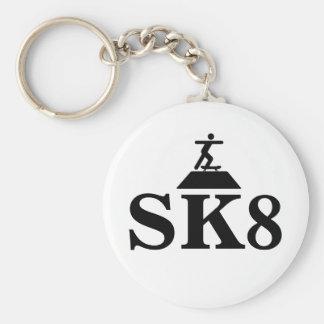 SK8 Keychain