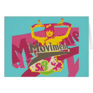 Sk8 Skateboarding T-shirts and Gifts Greeting Card