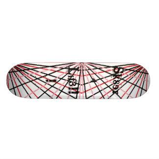 Sk8er 4 Lif3!!! 21.3 Cm Mini Skateboard Deck