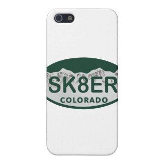 sk8er license oval iPhone 5 case