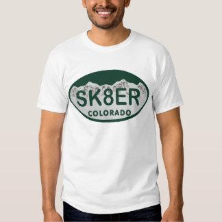 sk8er license oval shirt
