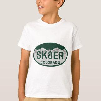 sk8er license oval T-Shirt