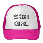 SK8R GIRL Skater Skateboard Pink Cap