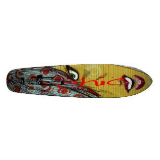 sk8ter chics rule! 20 cm skateboard deck