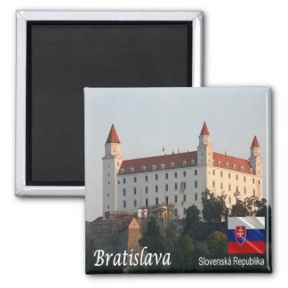 SK - Slovakia - Bratislava - Castle Magnet