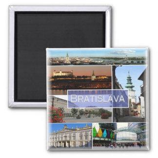 SK * Slovakia - Bratislava Magnet