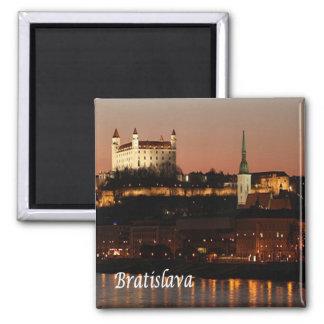 SK - Slovakia - Bratislava Square Magnet