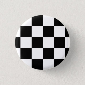 Ska Checks 3 Cm Round Badge