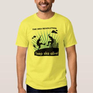 ska is not dead! shirts
