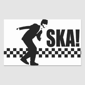 Ska On! Rectangular Sticker